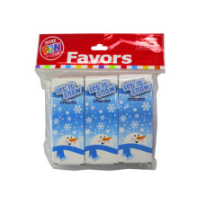 24 Pack Winter Theme Crayons with 6 packs of 4