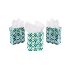 Medium Floral Print Gift Bag