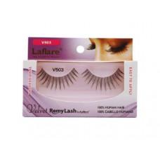 LaFlare V503 100% Human Hair Velvet Remy Eyelashes