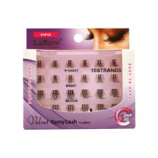LAFLARE Velvet Remy 10 Strand Eyelashes