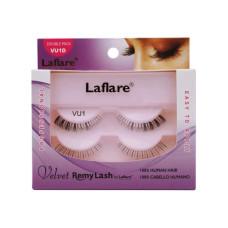 LaFlare VU1D 100% Human Hair Velvet Remy Double Lower Eyelashes
