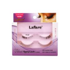 LaFlare VU2D 100% Human Hair Velvet Remy Double Under Lower Eyelashes