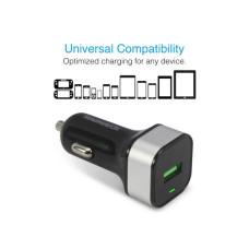 MAGNAVOX USB 3.0 Quick USB Car Charger