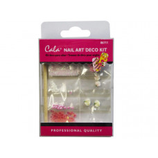 Rose Nail Art Decoration Kit with Glue