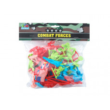 56 piece combat forgers army men set