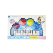 Battery Operated Light-Up Keyboard (Blue)