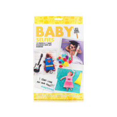 npw usa baby selfie kit with props and marker