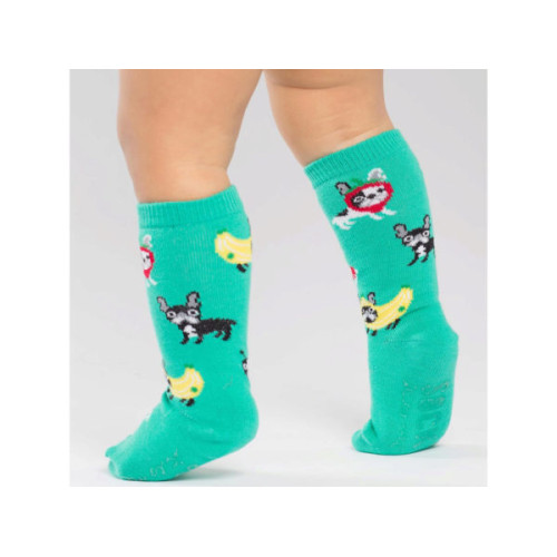 Sock it to Me Costume Party Toddler Knee High Socks