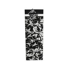 Black & White Damask Wine Bottle Gift Bag with Gift Note
