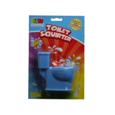 toilet shaped water squirter in assorted colors
