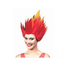 Flame Head Wig