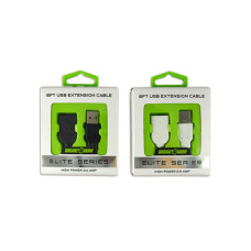 Gadget Gear Elite Series 6 Foot USB Extension Cord