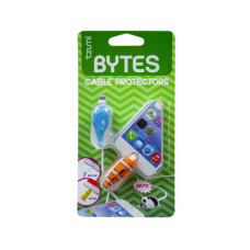 tzumi cord bytes 2 pack clownfish & whale cord protectors