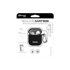 SoundsMates True Wireless Bluetooth 5.0 Earbuds Black Combo Pack