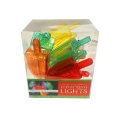 Battery Operated Bright Ice Cream Decorative String light