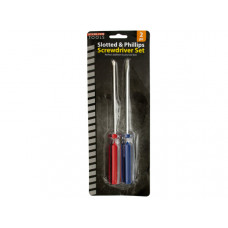 Slotted & Phillips Screwdriver Set