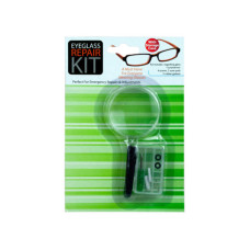 Eyeglass Repair Kit with Magnifying Glass
