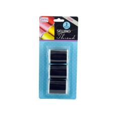 Black Sewing Thread Set