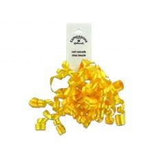 Yellow Mini Curl Gift Bow