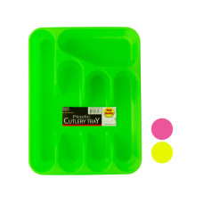 Five Section Plastic Cutlery Tray