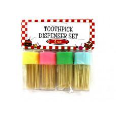 Toothpick Dispenser Set