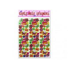 """""""Girls Rule"""" Stickers"""