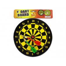 Dart Board with Darts