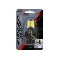 Light Bulb Converter with Switch