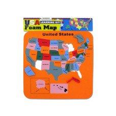 USA Foam Map Set