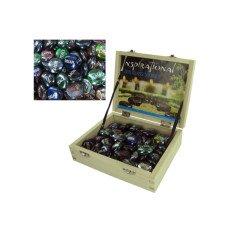 Inspirational Zen Glass Stones Counter Top Display