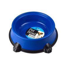 Round Pet Bowl with Paw Base