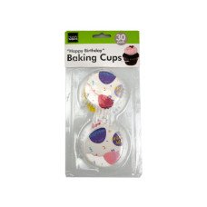 Happy Birthday Baking Cups