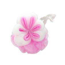 Floral-Shaped Bath Scrubber