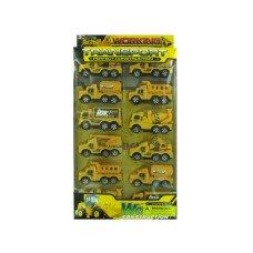 Construction Truck Toy Set