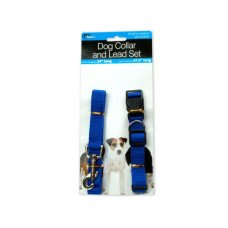 Dog Collar & Lead Set