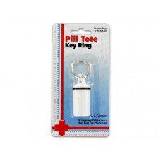 Pill Tote Key Ring