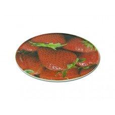 Round Trivet with Strawberry Design