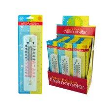 Indoor & Outdoor Thermometer Countertop Display