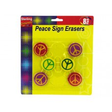 Peace Sign Erasers