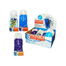 Foldable Water Bottle Countertop Display