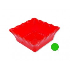 Decorative Square Plastic Bowl