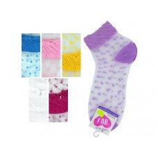Mid Cut Dots Socks