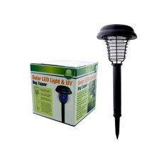 Solar LED Light & UV Bug Zapper
