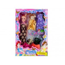 Fashion Doll with Dresses Set