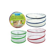 Pop-Up Outdoor Food Protector Covers