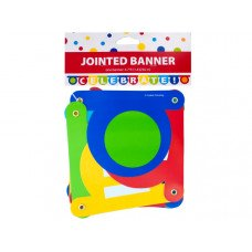 CELEBRATE Jointed Party Banner