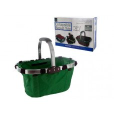 Collapsible Basket Tote with Aluminum Frame