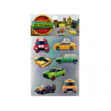 3D Car and Truck Stickers