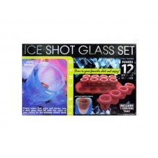 Ice Shot Glass Set With Bonus Tray