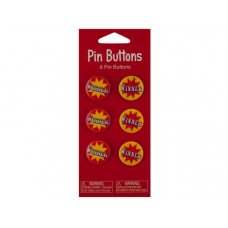 Big Top Winner Party Favor Buttons